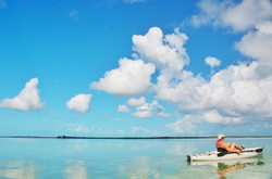 Kayaking Middle Caicos