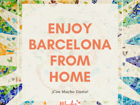 Enjoy Barcelona from home