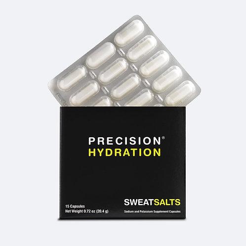 Blister-packed SweatSalt electrolyte capsules