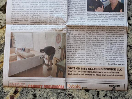 We Made The Headlines!! All Thanks To You Maui