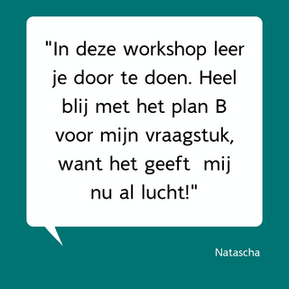 Reactie deelnemer Intro workshop