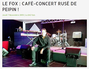 FOX Café-Concert frequence mistral