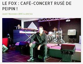 FOX Café-Concert frequence mistral