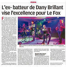 L'es-batteur de Daby Brillant vise l'excellence pour le Fox