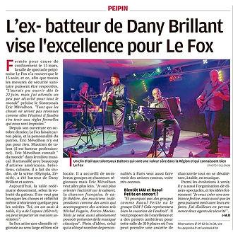 L'ex-batteur de Daby Brillant vise l'excellence pour le Fox