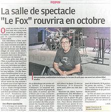 Le FOX à Peipin rouvre ses portes le 2 octobre 2021