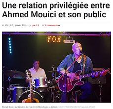 FOX Café-Concerts Ahmed Mouici