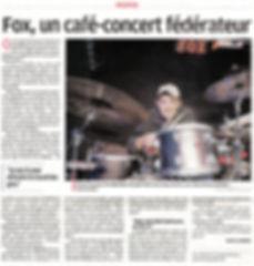 FOX Café-Concerts Le Dauphine Maeva Zabner