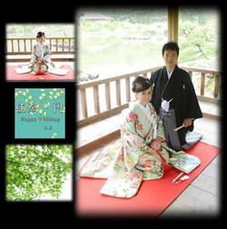 挙式(広島護国神社)-披露宴(ホテルセンチュリ−21広島)