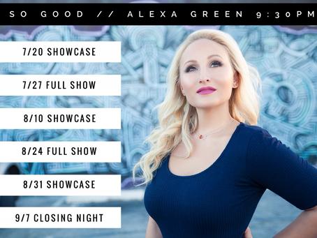 Alexa Green – 2016 Summer Residency @ Rehobeth Beach