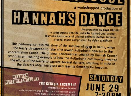 Hannah's Dance @ Andy's Playhouse