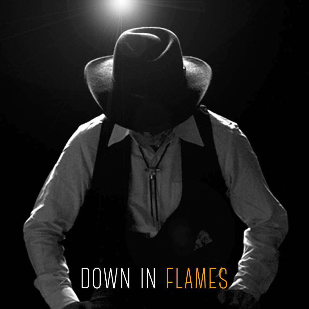 Down In Flames album cover art