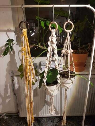 macramé plant hanger @desteek 05/03/20