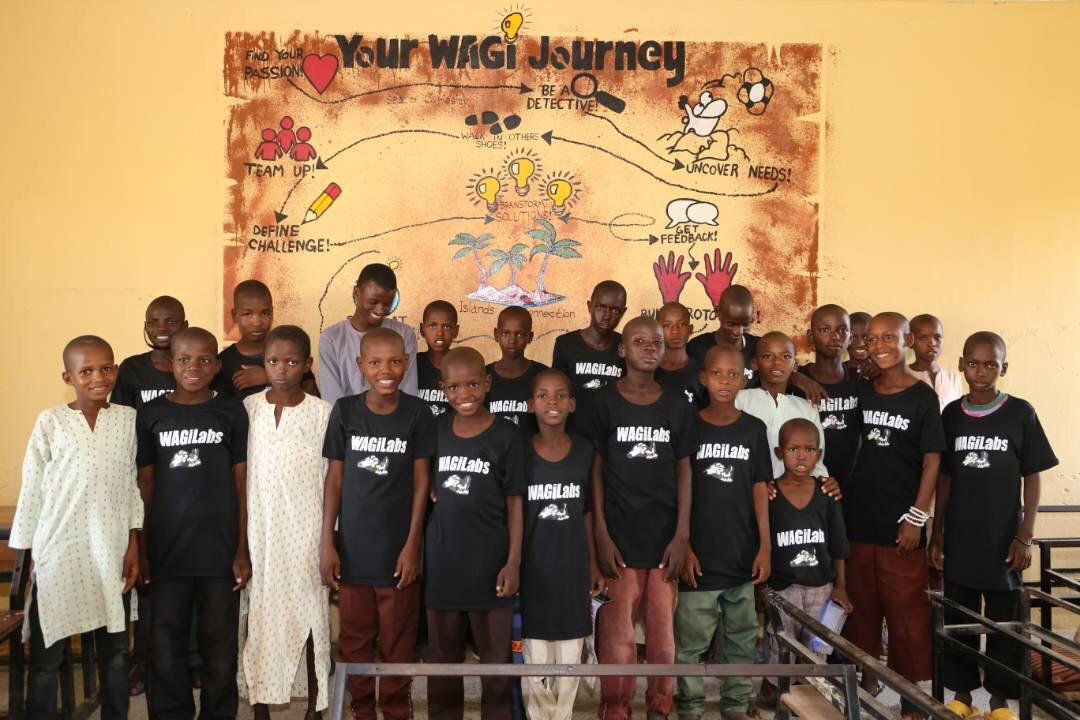 Nigeria Wagi Classroom