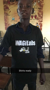 Nigeria Wagi T-shirts