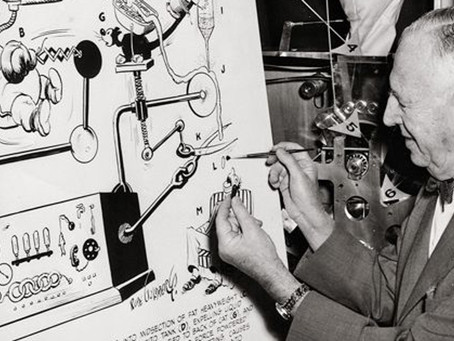 In these crazy times… I tried thinking like Rube Goldberg