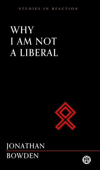 Why I Am Not a Liberal