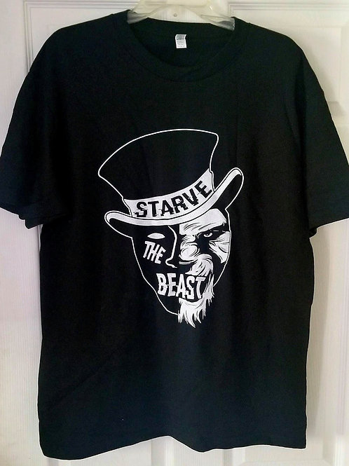 Starve The Beast - Black Logo T-Shirt