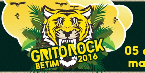 Início da turnê no Grito Rock Betim (MG)