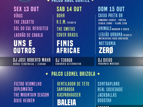 Tocaremos no Caxias Music Festival!