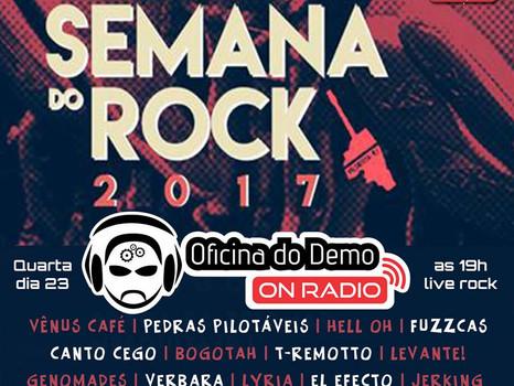 Oficina do Demo On Radio - Especial Semana do Rock 2017