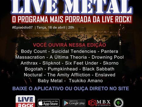 Estamos no Programa Live Metal