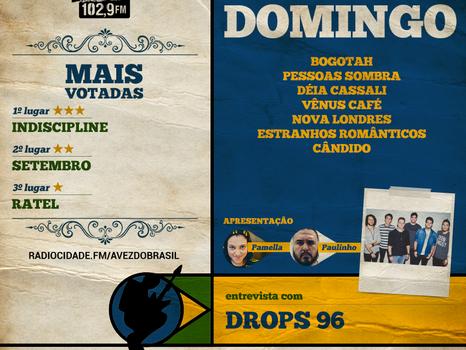 Bogotah na Rádio Cidade FM 102,9!