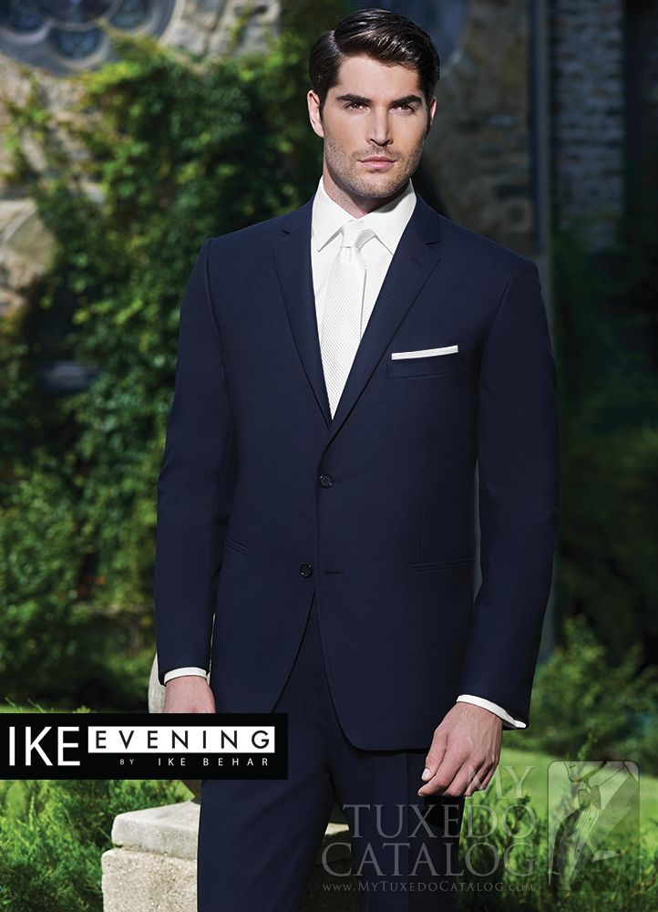 navy collin suit