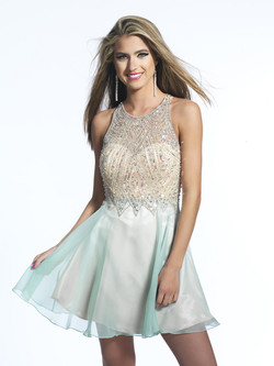 Dave and Johnny short dress 1731