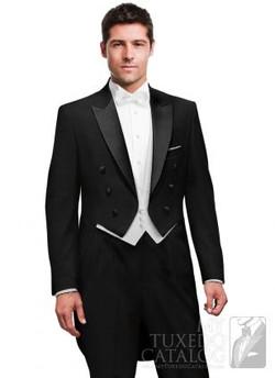 black peak tailcoat