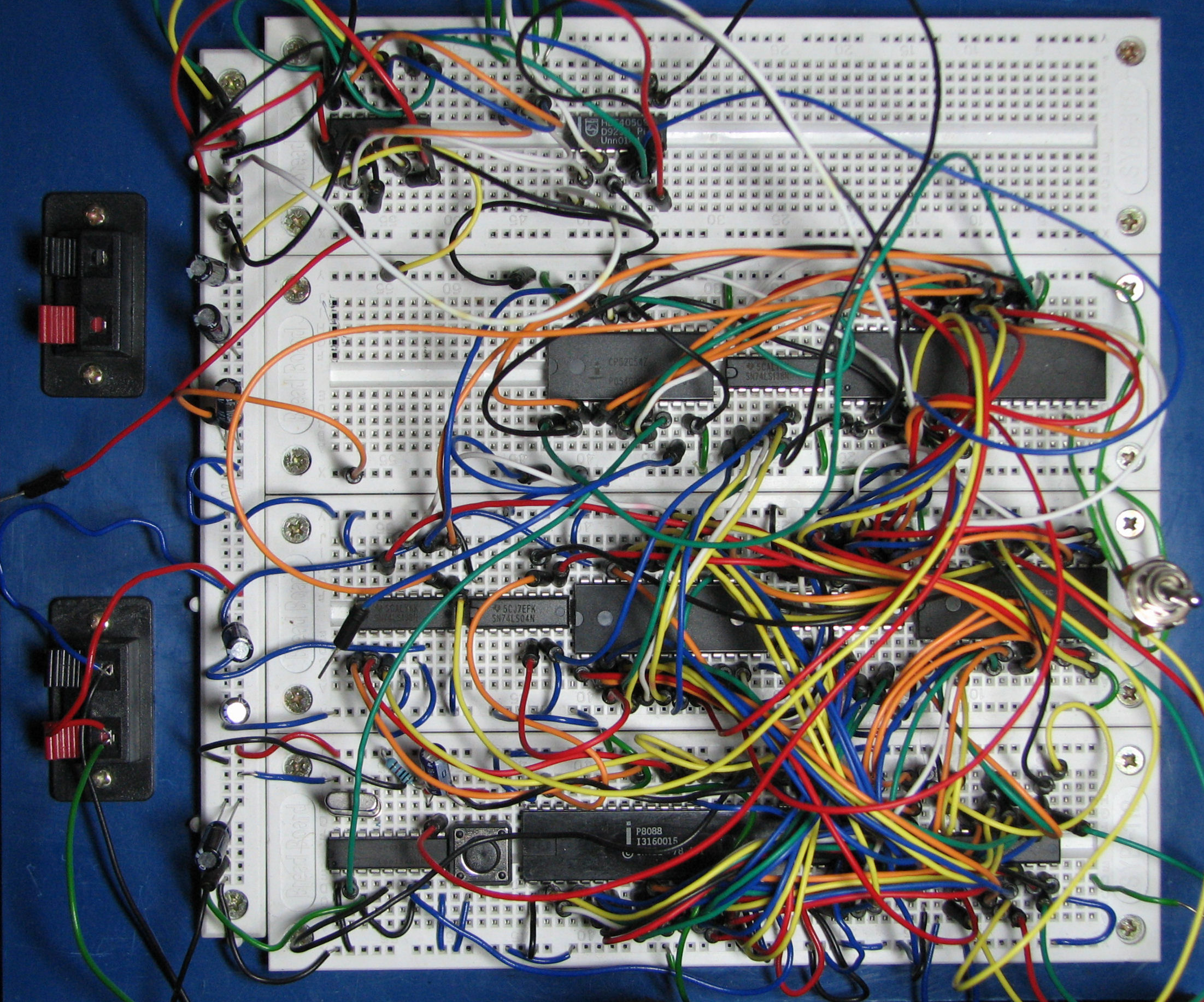 Prototyping A Breadboard Advantage And Limitation Rimsky Cheng Breadboards Electronics Images Personal Site