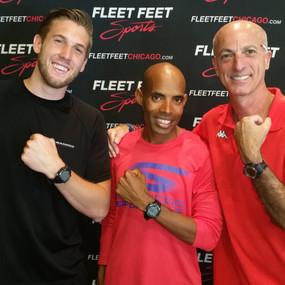 Fleet Feet, Chicago: With Meb