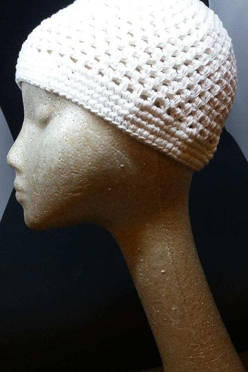 Knit cap (white)