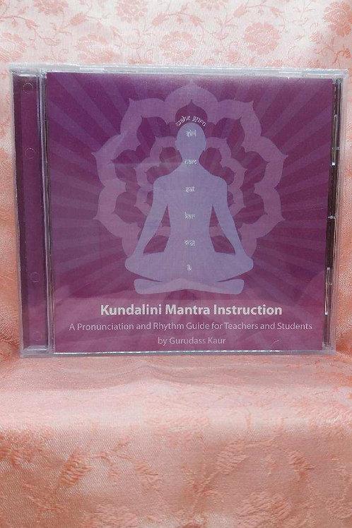 Kundalini Mantra Instruction