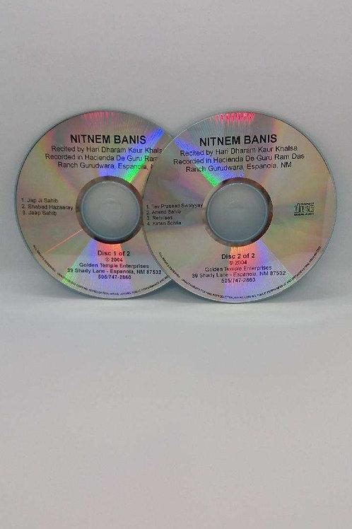 Nitnem Banis 2 Disc Set