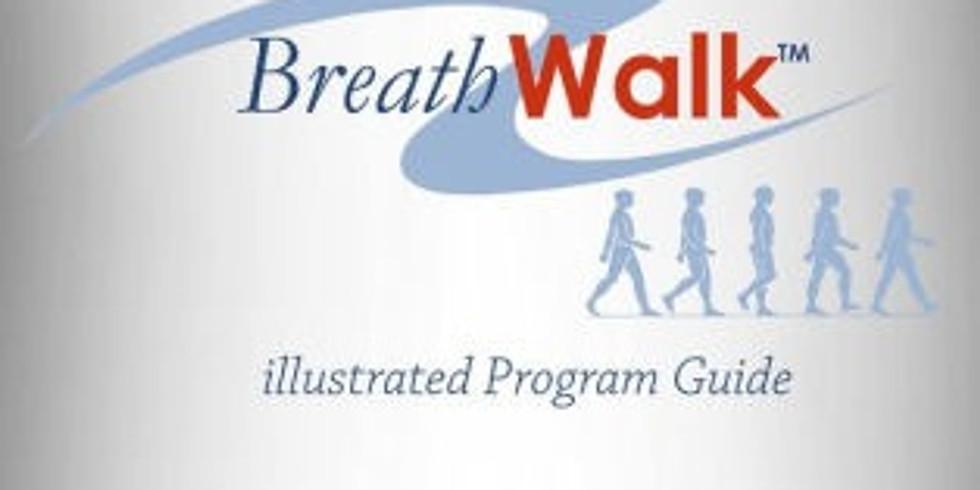 Breathwalk Illustrated Program Guide (5 Breathwalks) - $19.95