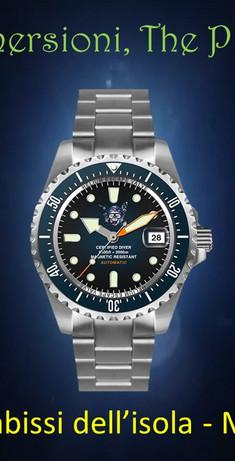 Orologio Il pirata delle immersioni 1