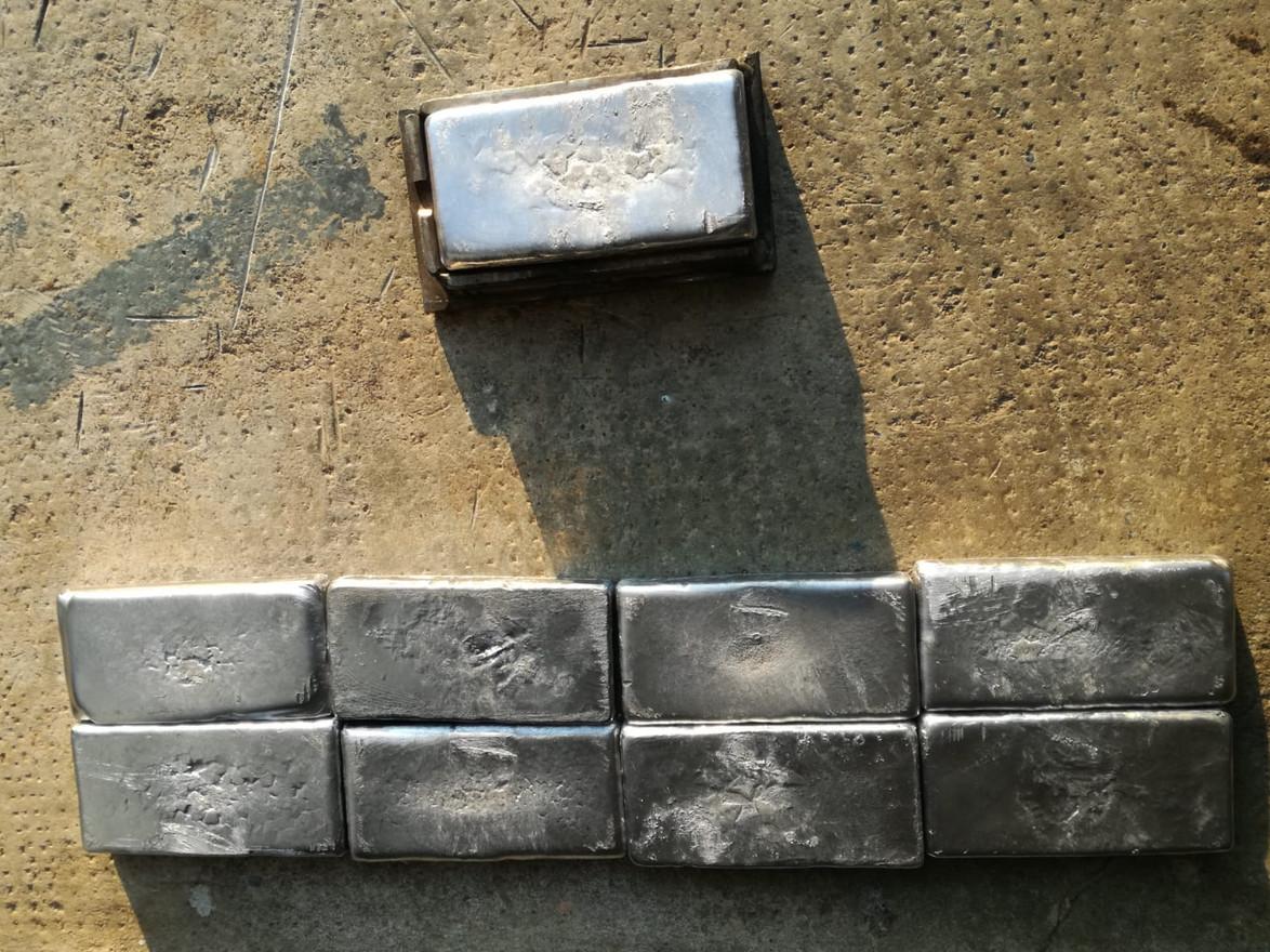 Piombi da tasca GAV 12x6 cm grezzi