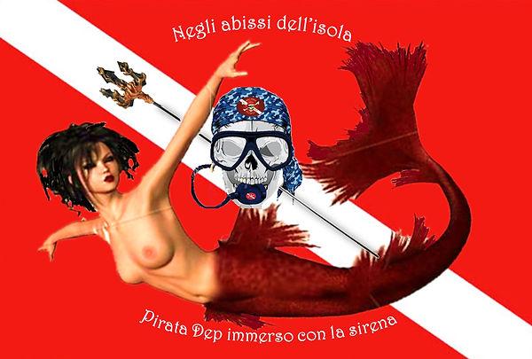 Logo Il pirata delle immersioni e la sir