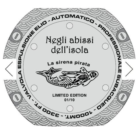 Orologio La Sirena Pirata Fondello