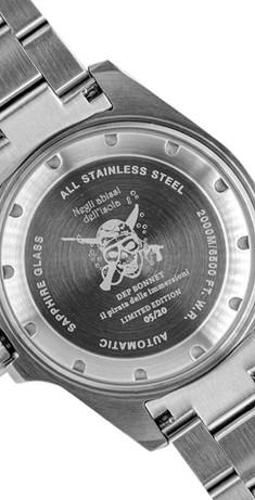 Fondello Orologio Il pirata delle immersioni 2.000 m