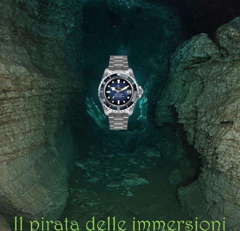 Orologio Il pirata delle immersioni 6