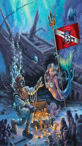 Il pirata delle immersioni e la sirena 3