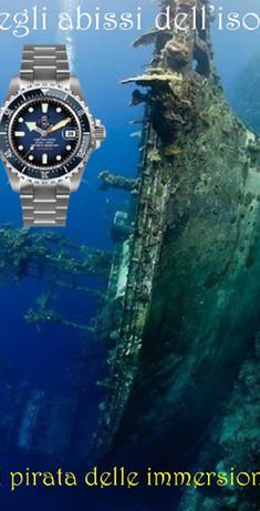 Orologio Il pirata delle immersioni 15