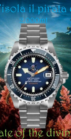 Orologio Il pirata delle immersioni 9