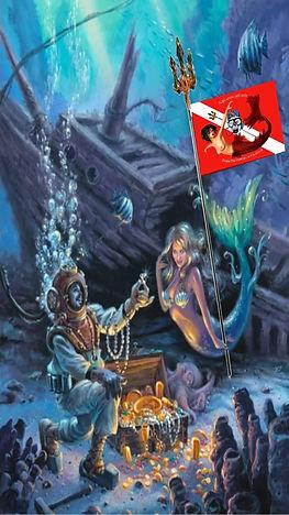 Il pirata delle immersioni e la sirena 4