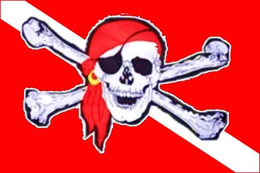 logo pirata delle immersioni
