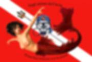 Bandiera Pirata Dep e la sirena