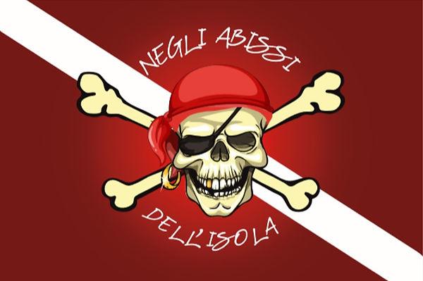 Bandiera Negli abissi dell'isola Eudi Sh
