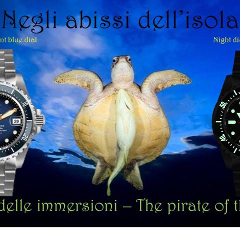Orologio Il pirata delle immersioni 10
